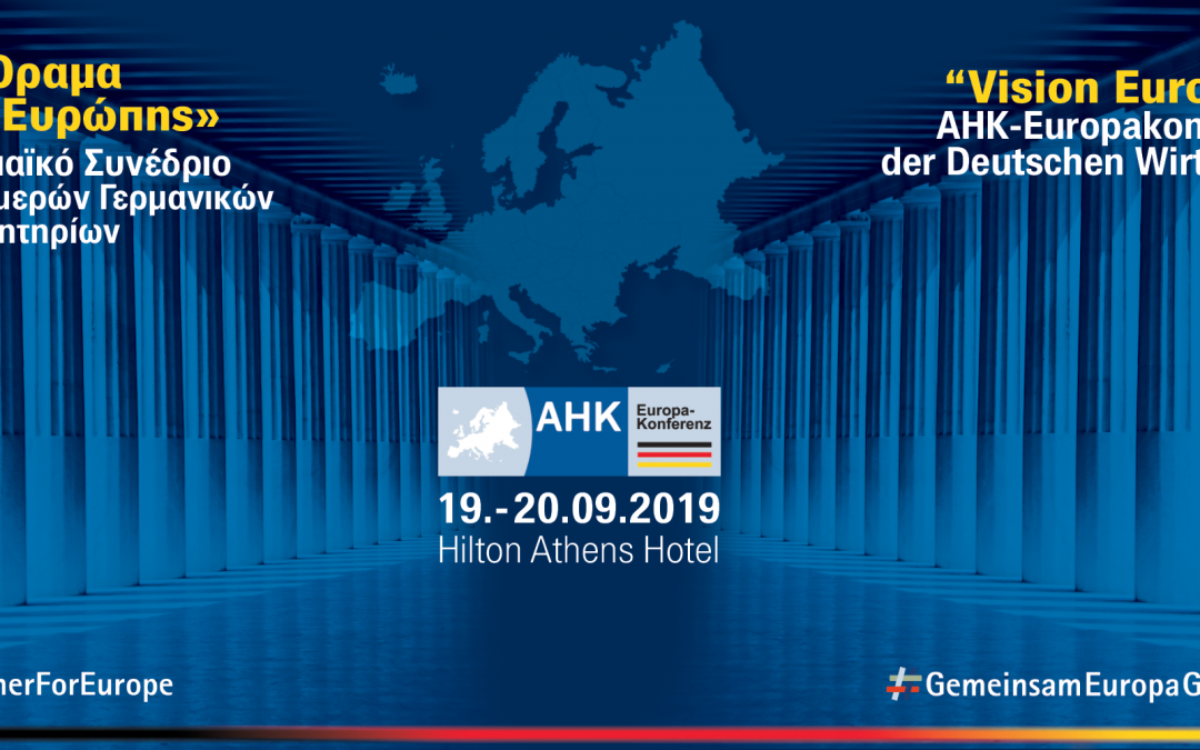 European Congress of the German Bilateral Chambers 2019