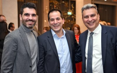 New Year's Reception hosted by the Greek-German Chamber of Trade and Commerce of Thessaloniki