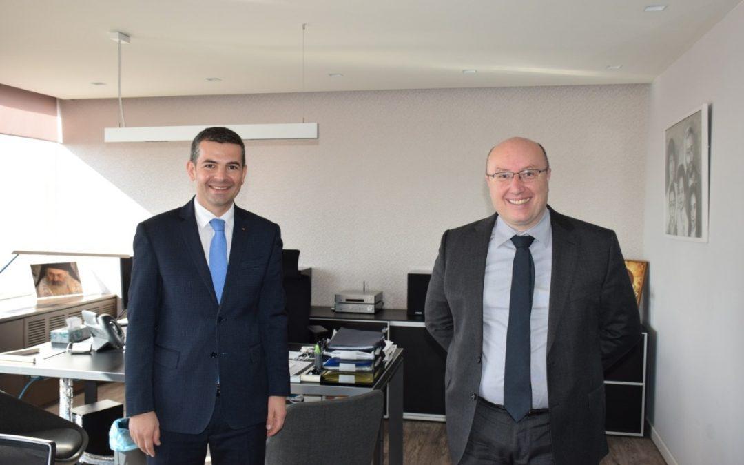 Η «ΟΙΚΟΝΟΜΑΚΗΣ ΧΡΗΣΤΟΣ ΔΙΕΘΝΗΣ ΔΙΚΗΓΟΡΙΚΗ ΕΤΑΙΡΙΑ»  στο πλευρό του κ. Daniel Constantin στα πλαίσια των θεσμικών του καθηκόντων, αλλά και εν όψει των Ρουμανικών Εθνικών Εκλογών στις 6 Δεκεμβρίου 2020