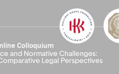 """""""Τεχνητή Νοημοσύνη: Διεθνείς και Συγκριτικές Νομικές Προκλήσεις"""" – 1& 2 Απριλίου 2021, εκδήλωση με συμμετοχή της δικηγόρου της """"Οικονομάκης Χρήστος Διεθνής Δικηγορική Εταιρία"""", Μελίνας Καλυβιανάκη"""
